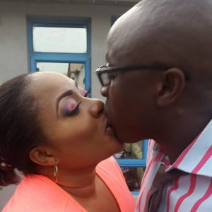 foluke+daramola+kissing+husband
