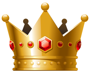 Gold_Crown_with_Red_Diamonds_PNG_Clipart