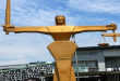 LAGOS:  'GATEMAN' DOCKED FOR ALLEGEDLY STEALING WIG