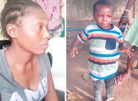 Alleged-serial-child-thief-Mrs-Juliet-Philip-twins